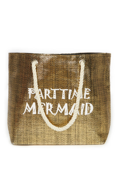 Parttime Mermaid Beach Bag