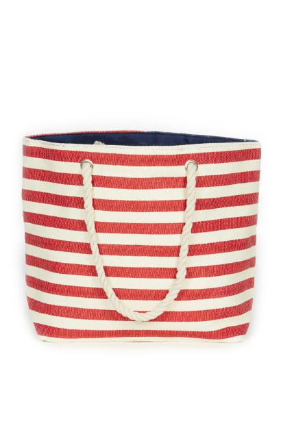 American Flag Beach Bag