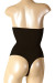 Black High Waist Tummy Control Thong Panties